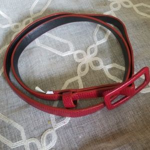 Accessories - RED BELT SIZE 4